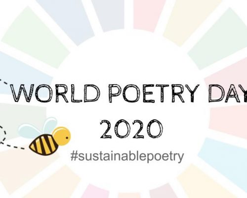 The journey towards World Poetry Day 2020 starts now!
